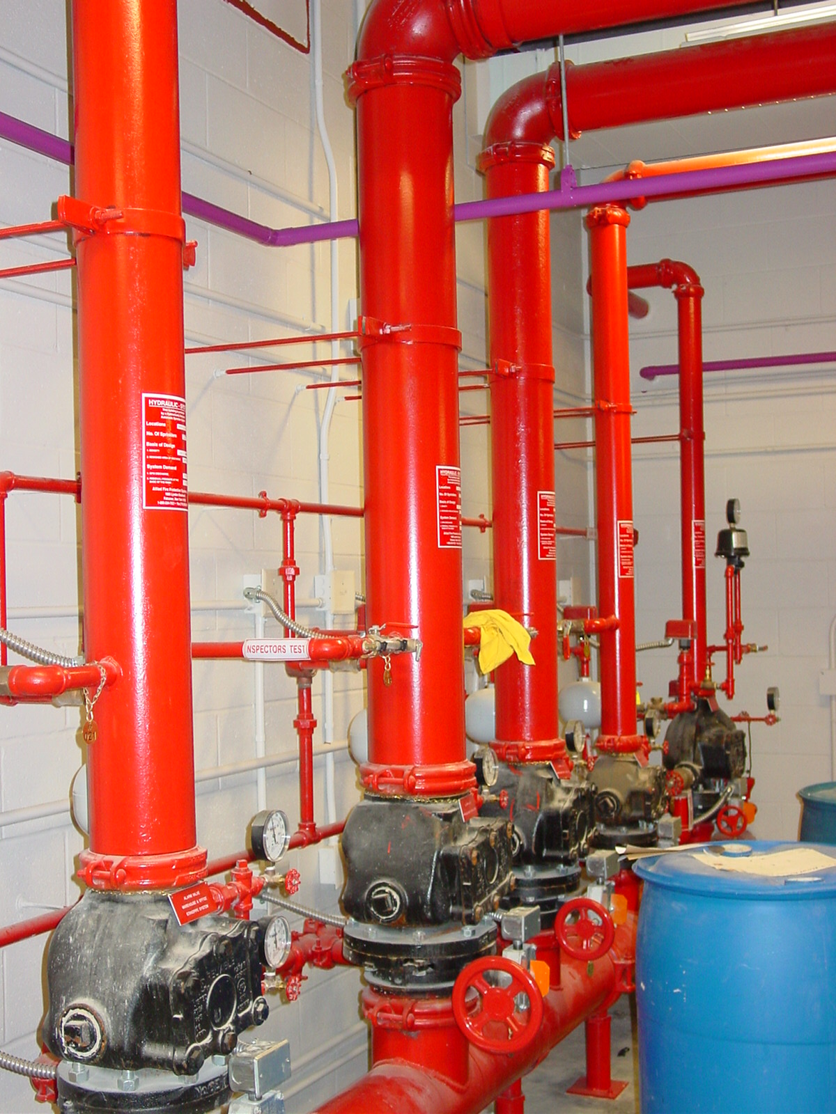 NYPA Fire Protection System