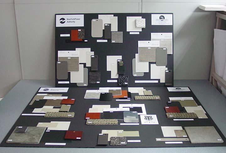NYPA Color Board