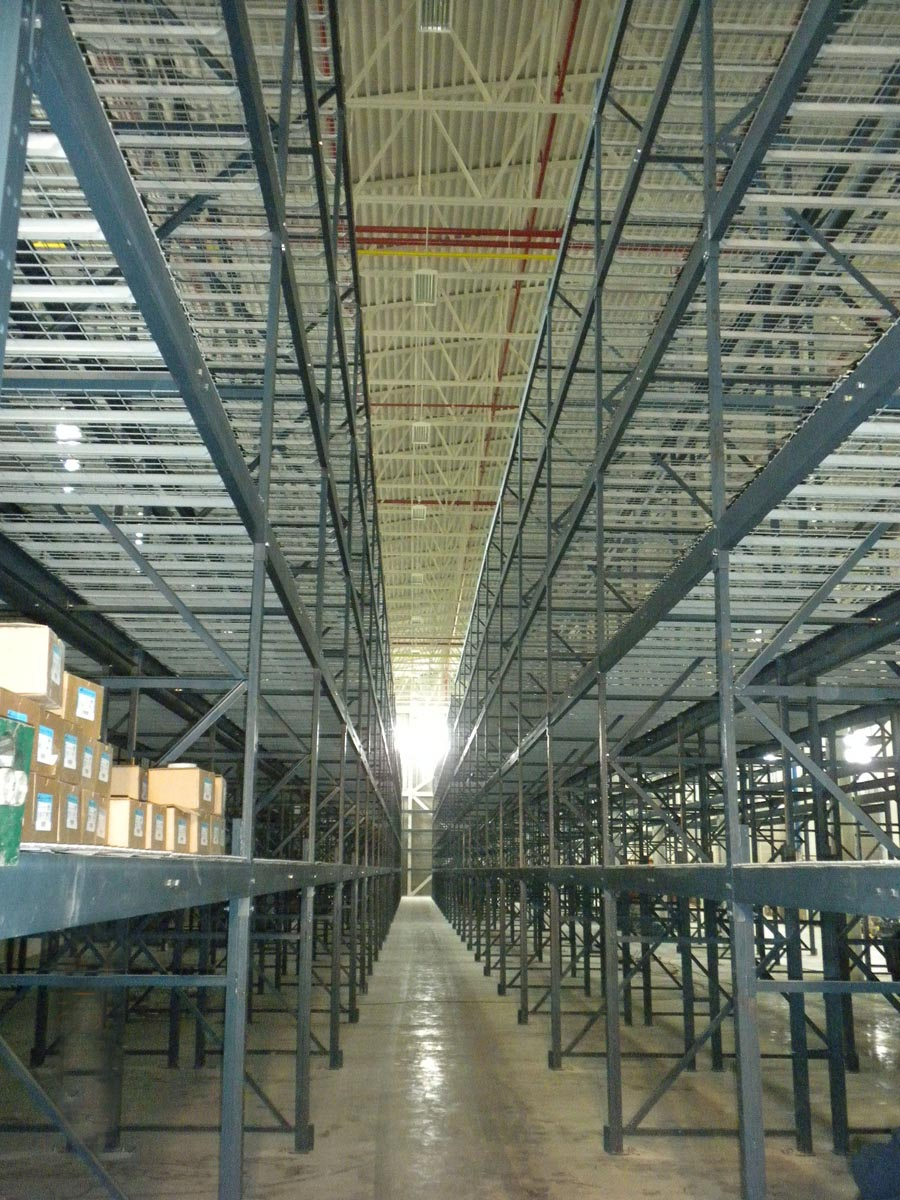 NYPA Warehouse Racking System